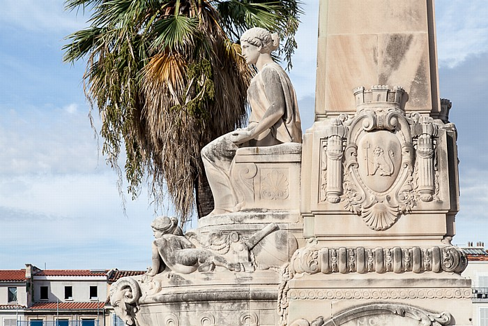 Escalier monumental de la gare de Marseille-Saint-Charles Gare de Marseille-Saint-Charles