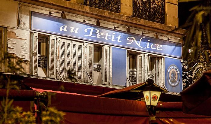 Marseille Place Jean Jaurès: au Petit Nice