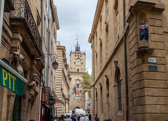 Aix-en-Provence Altstadt Hôtel de Ville