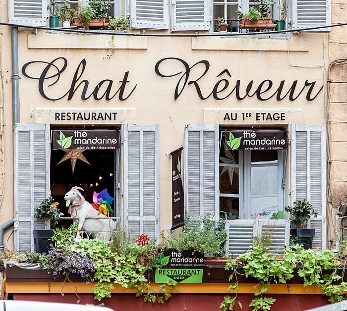 Aix-en-Provence Altstadt: Rue Vauvenargues - Le Chat Rêveur