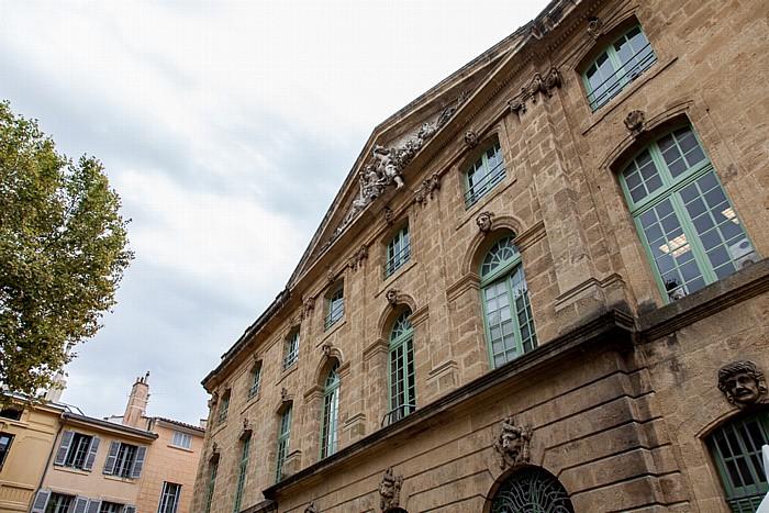 Aix-en-Provence Altstadt: Place de l'Hôtel-de-Ville - Ehem. Kornhalle