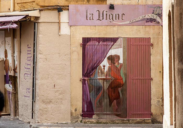 Aix-en-Provence Altstadt: La Vigne