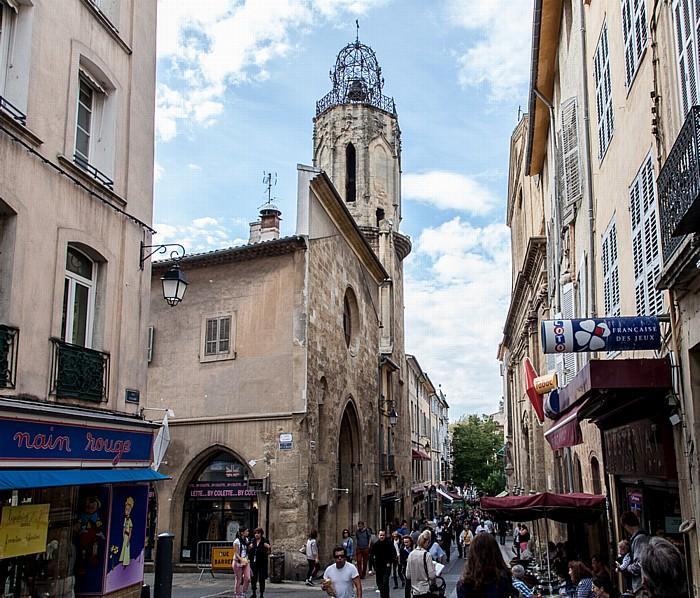 Aix-en-Provence Altstadt: Rue Espariat