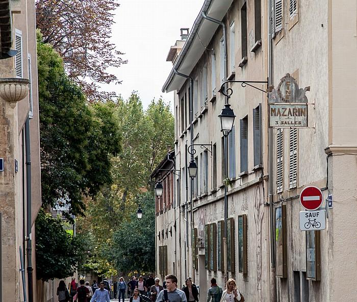 Aix-en-Provence Rue Laroque Cinéma Le Mazarin