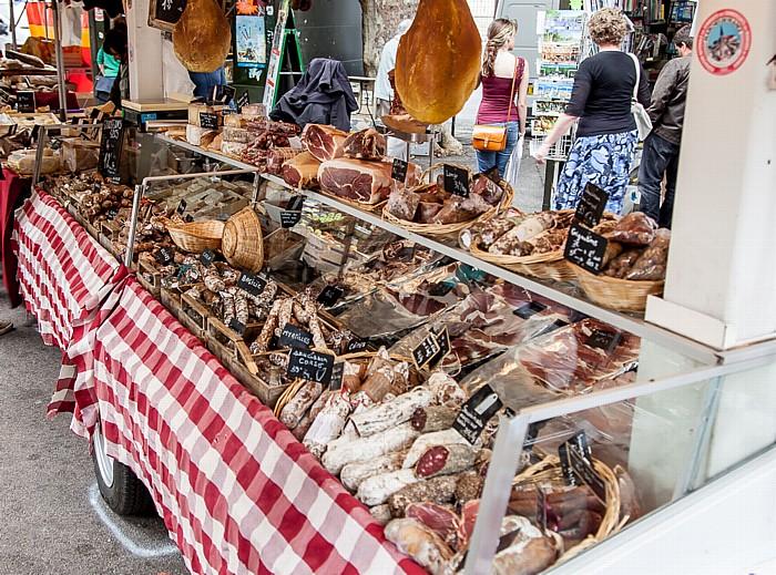 Aix-en-Provence Altstadt: Place des Prêcheurs - Markt