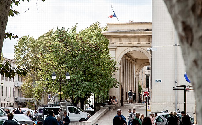 Aix-en-Provence Altstadt: Palais de Justice