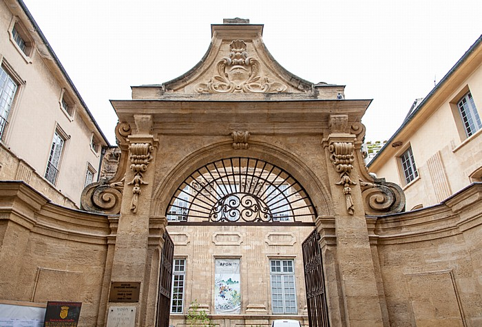 Aix-en-Provence Altstadt: Hôtel Boyer d'Éguilles (Musée d'Histoire Naturelle)