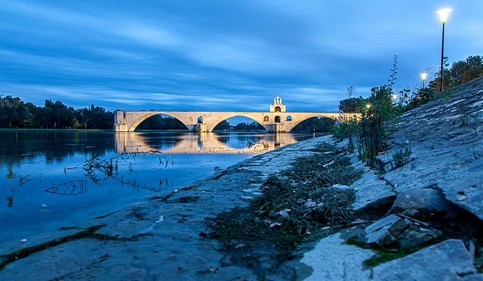 Rhone, Pont Saint-Bénézet (Pont d'Avignon)
