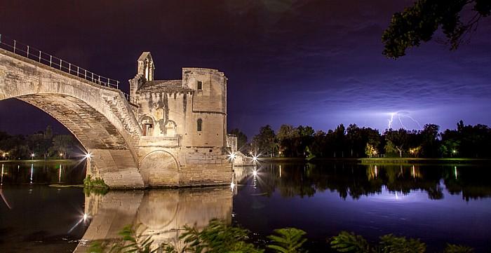 Pont Saint-Bénézet (Pont d'Avignon), Rhone