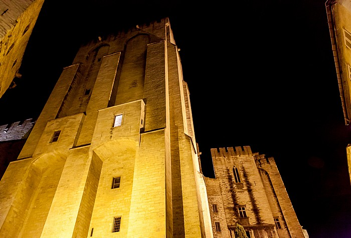 Avignon Intra-muros: Papstpalast (Palais des Papes)