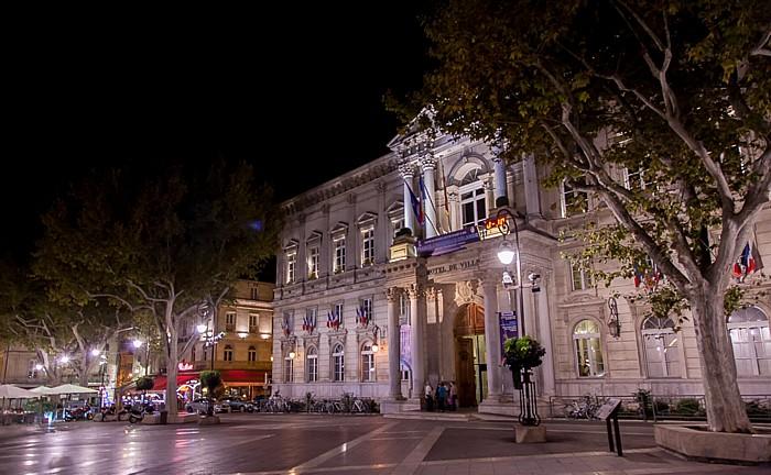 Avignon Intra-muros: Place de l'Horloge, Rathaus (Hôtel de ville)