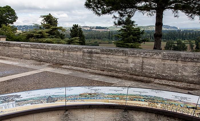Avignon Intra-muros: Rocher des Doms