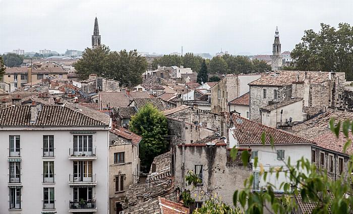 Avignon Blick vom Rocher des Doms: Intra-muros Couvent des Augustins Église Saint-Symphorien-les-Carmes