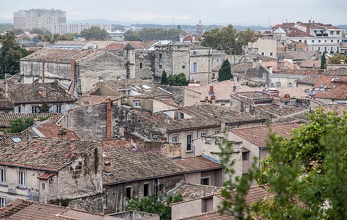 Avignon Blick vom Rocher des Doms: Intra-muros