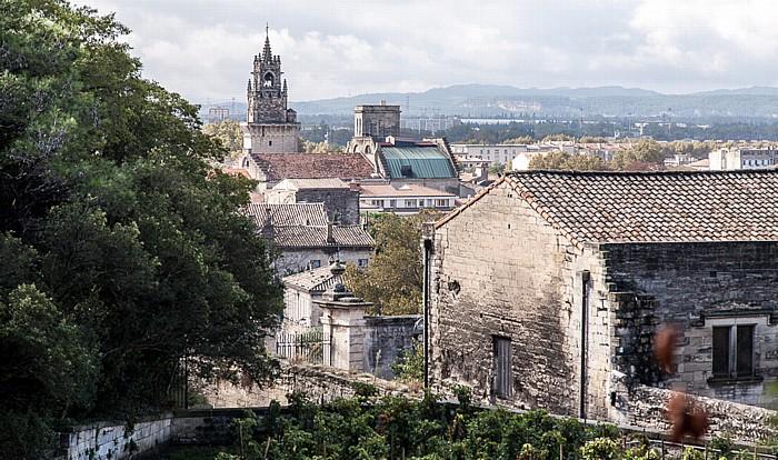 Avignon Blick vom Rocher des Doms: Intra-muros Rathaus