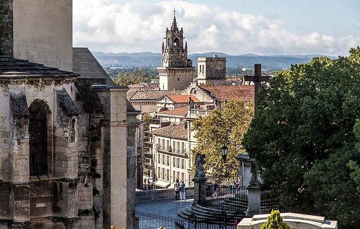 Avignon Intra-muros: Papstpalast (Palais des Papes), Rathaus (Hôtel de ville)