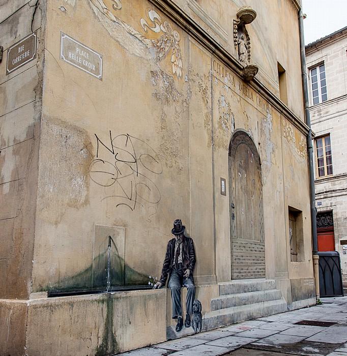 Avignon Intra-muros: Place de la Belle Croix