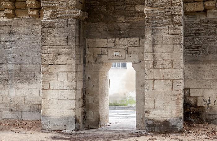 Avignon Stadtmauer: Poterne Saint-Lazare