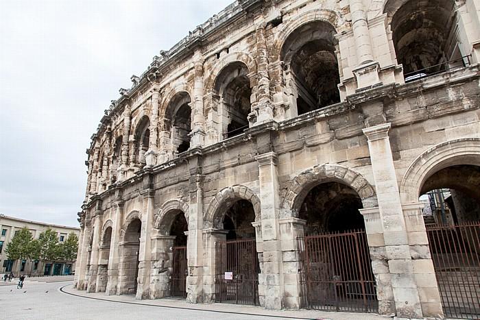 Place des Arènes, Amphitheater (Arènes de Nîmes)