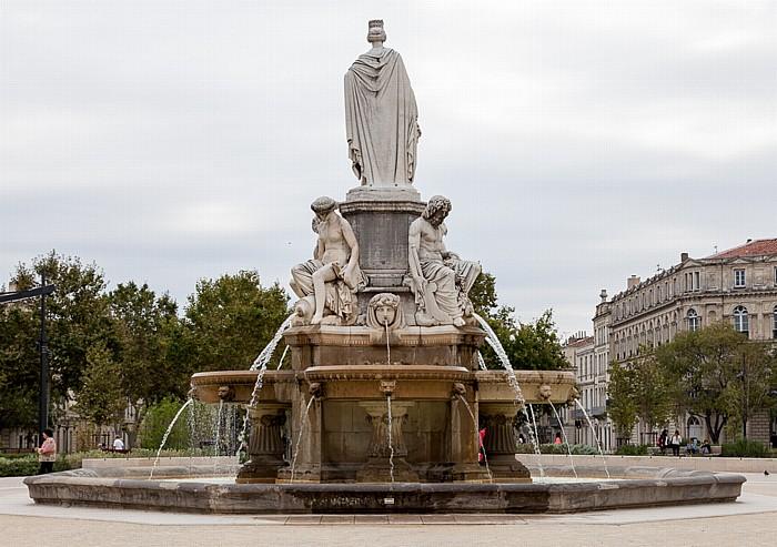 Nîmes Esplanade Charles De Gaulle