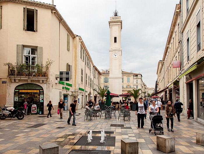Nîmes Écusson: Place de l'Horloge - Tour de l'Horloge