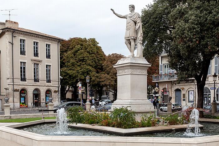 Nîmes Square Antonin: Denkmal für Antonin le Pieux