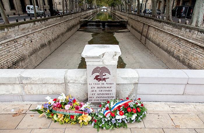 Nîmes Square Antonin, Quai de La Fontaine