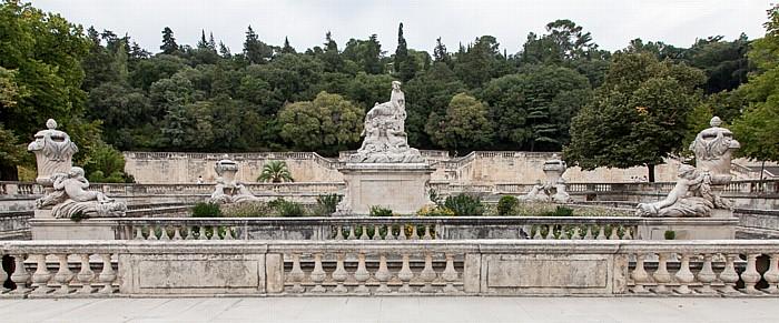 Nîmes Jardins de la Fontaine