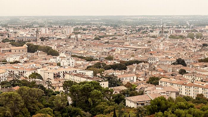 Nîmes Blick vom Tour Magne