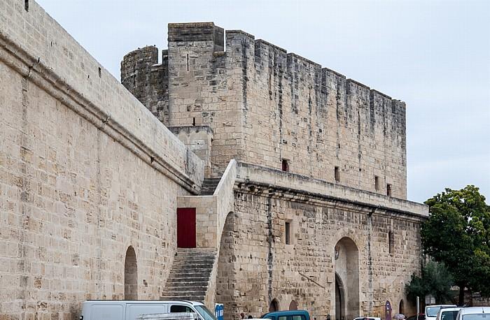 Aigues-Mortes Intra muros: Stadtmauer, Porte de la Gardette