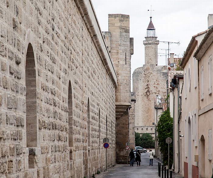 Aigues-Mortes Intra muros: Stadtmauer, Tour de Constance