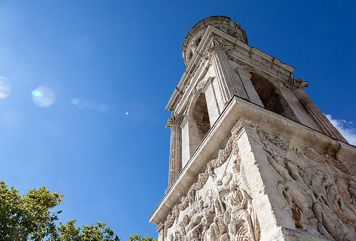 Saint-Rémy-de-Provence Ehem. römische Stadt Glanum: Juliermausoleum