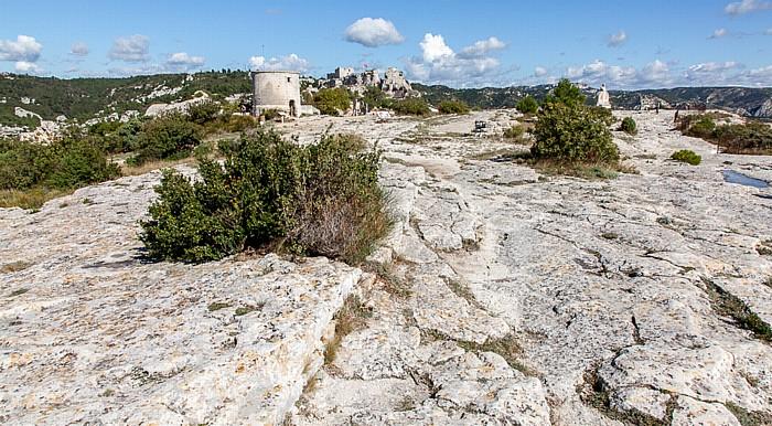 Les Baux-de-Provence Massif des Alpilles (Alpillen) Château des Baux