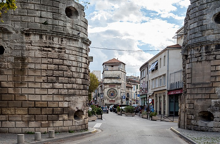 Arles Porte de la Cavalerie, Rue de la Cavalerie