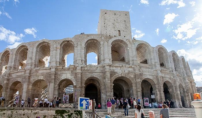 Parvis des Arenoises, Amphitheater (Arènes d'Arles)