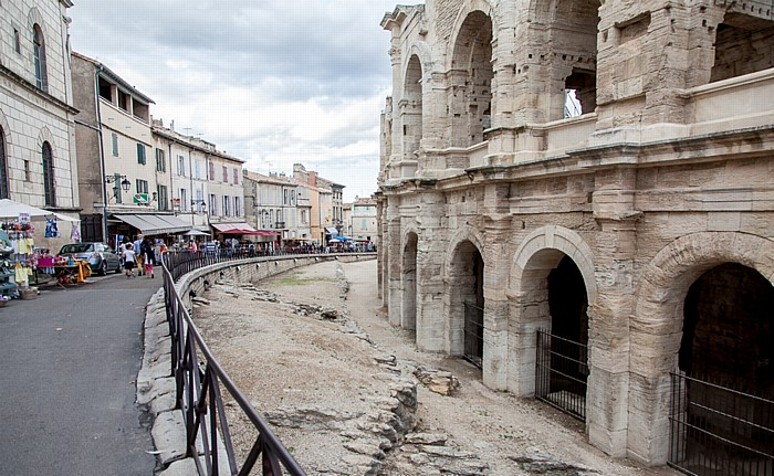 Pro des Tours Sarrasines, Amphitheater (Arènes d'Arles)