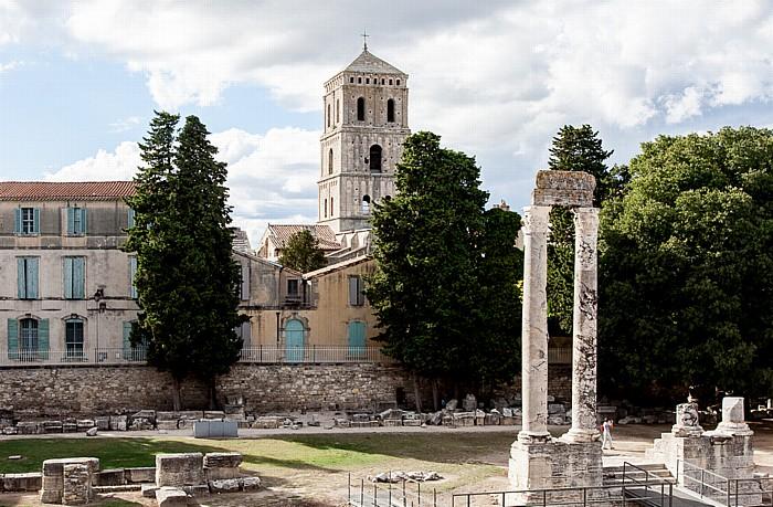 Antikes Theater (Théâtre antique d'Arles) Kathedrale St-Trophime
