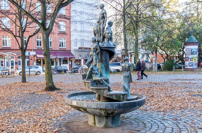 Großneumarkt: Großneumarktbrunnen Hamburg