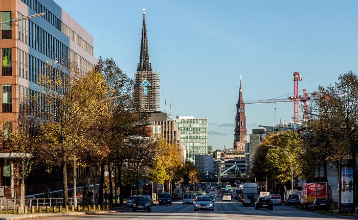 Hamburg Ludwig-Erhard-Straße St.-Katharinen-Kirche St.-Nikolai-Kirche
