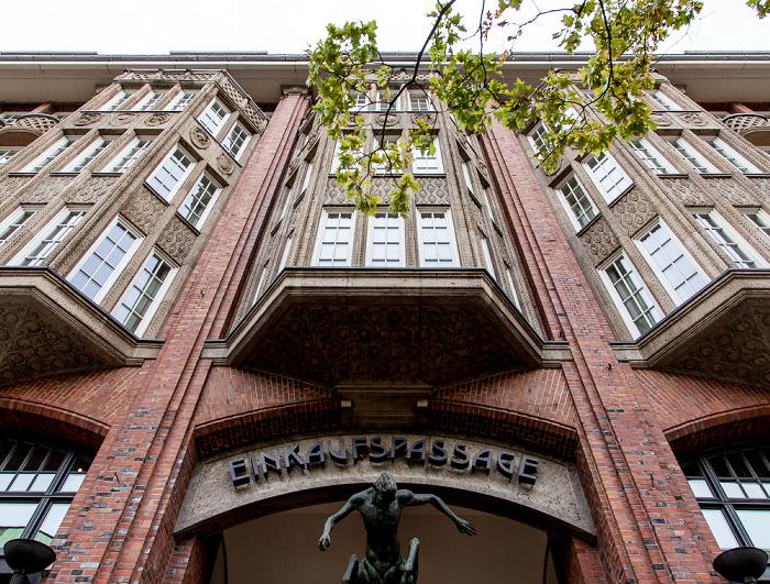 Mönckebergstraße: Levantehaus Hamburg