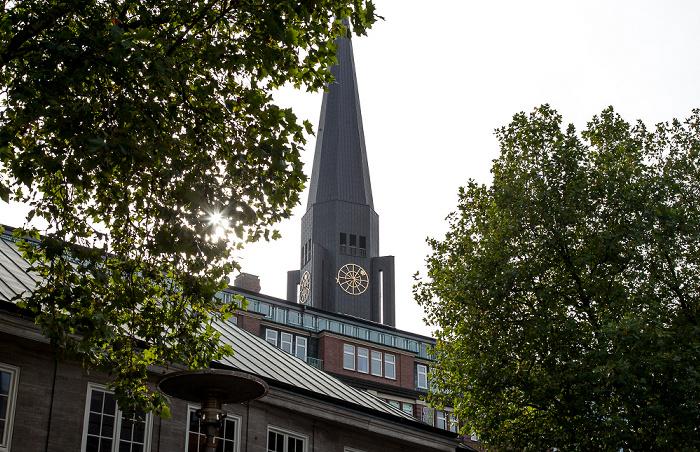 Turmspitze der St.-Jacobi-Kirche Hamburg