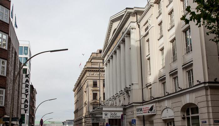 Alstertor: Thalia Theater Hamburg