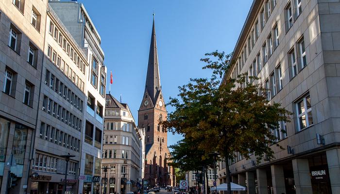Bergstraße, St.-Petri-Kirche Hamburg