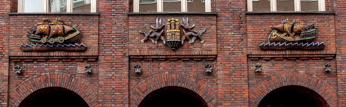 Dienstgebäude der Finanzbehörde Hamburg