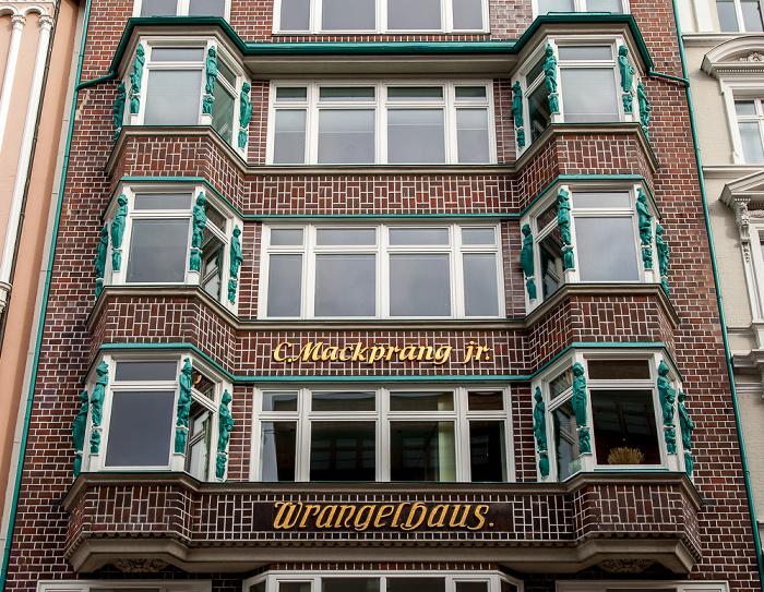 Hamburg Jungfernstieg: Wrangelhaus