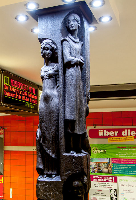 Hamburg U-Bahnhof Jungfernstieg