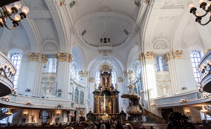 Hamburg St.-Michaelis-Kirche (Michel): Kirchenraum
