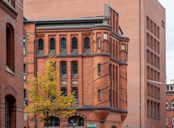 Hamburg Speicherstadt: Holländischer Brook an der Dienerreihe