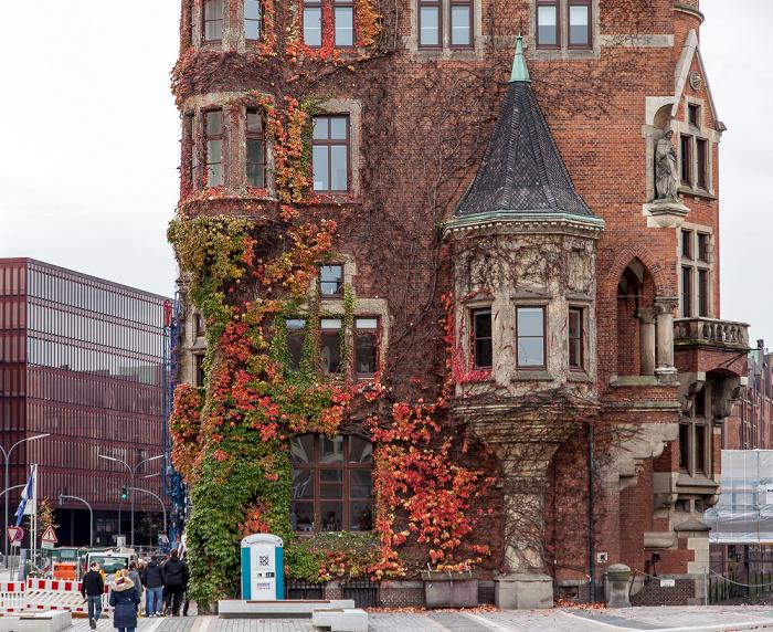 Hamburg Speicherstadt: Kontorhaus Am Sandtorkai 1