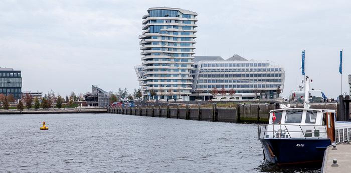 Hamburg HafenCity: Quartier Strandkai - Grasbrookhafen Hamburger Hafen Marco-Polo-Tower Unilever-Haus